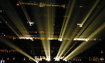 Light beams into Reliant Stadium before Sugarland performed Saturday Aug. 08, 2009.(Dave Rossman/For the Chronicle)