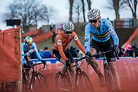 Tim Merlier (BEL)<br /> <br /> Men's Elite race <br /> <br /> UCI 2019 Cyclocross World Championships<br /> Bogense / Denmark<br /> <br /> <br /> ©kramon