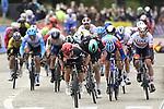 Caleb Ewan (AUS) Lotto Soudal wins the 108th Edition of Scheldeprijs 2020 running 173.3km from Schoten to Schoten, Belgium. photo Peter De Voecht/PN/BettiniPhoto©2020. 14th October 2020.  <br /> Picture: Bora-Hansgrohe/Peter De Voecht/PN/BettiniPhoto   Cyclefile<br /> <br /> All photos usage must carry mandatory copyright credit (© Cyclefile   Bora-Hansgrohe/Peter De Voecht/PN/BettiniPhoto)