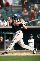 May 19  2007: Chad Huffman of the Lake Elsinore Storm bats against the Lancaster JetHawks at Clear Channel Stadium in Lancaster,CA.  Photo by Larry Goren/Four Seam Images