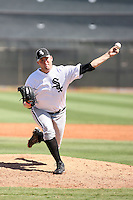 Kevin Rath - Chicago White Sox - 2010 Instructional League.Photo by:  Bill Mitchell/Four Seam Images..