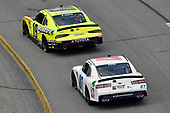 #19: Brandon Jones, Joe Gibbs Racing, Toyota Supra Menards/Inspire and #07: Joey Gase, SS Green Light Racing, Chevrolet Camaro Donate Life Virginia