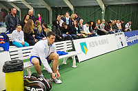 Januari 24, 2015, Rotterdam, ABNAMRO, Supermatch, Wesley Visser<br /> Photo: Tennisimages/Henk Koster