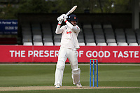Paul Walter hits out for Essex during Essex CCC vs Worcestershire CCC, LV Insurance County Championship Group 1 Cricket at The Cloudfm County Ground on 8th April 2021