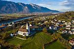 Drohnenaufnahme: Liechtenstein.<br /> Gamprin-Bendern<br /> Foto: ©Paul J. Trummer
