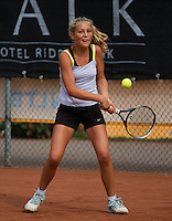 August 8, 2014, Netherlands, Rotterdam, TV Victoria, Tennis, National Junior Championships, NJK,  Tess Menten (NED)<br /> Photo: Tennisimages/Henk Koster