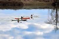 Kayaking on the Lewis River in southwest Washington