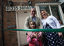 """30/04/16<br /> <br /> Barry Smith, Freya Kirkpatrick and Jane Plimmer.<br /> <br /> THERE'S a new toy shop in town and it's all thanks to an eight-year-old Clifton schoolgirl.<br /> MacLeods of Ashbourne, in Middle Cale just off St John Street, was officially opened by Freya Kirkpatrick on Saturday morning.<br /> Owner Barry Smith said he asked Freya to open the store as she was the one who convinced him that Ashbourne really needed a toy shop, after Lumbards in Victoria Square shut its doors last year.<br /> He said: """"I met Freya in the Smiths Tavern, when she was there with her mum, Jo Roberts, and dad, Rod Kirkpatrick.<br /> """"She started chatting to me about how sad she was that the only toy shop in town had closed because she had nowhere to buy her favourite Sylvanian Families characters.<br /> """"I mentioned that I was thinking of opening a new store in town, and by the end of our conversation she had totally convinced me to go for it and set up the toy shop.""""<br /> The 42-year-old had been looking for a new career after a serious accident ended his long-distance driving job.<br /> Barry, who lives in Ashbourne, has always had a passion for tanks, after spending four years as a trooper in the Royal Tank Regiment, and he said he enjoyed making model tanks in his spare time.<br /> """"I've always been fascinated by tanks, I used to play with them endlessly as a child and as soon as I was 16 I joined the army to learn how to drive them.<br /> """"So it seemed a logical move to open a shop which combined my love of tanks with something Ashbourne desperately needed, so half the store stocks hobby models including tanks, trains and aeroplanes and the other half has traditional kids toys,"""" he said.<br /> Brands sold include Sylvanian Families, Schleich animals, Siku cars and a variety of other games and toys, suitable for all ages.<br /> And Freya definitely approves. <br /> """"I'm really happy now,"""" she said.<br /> """"I was a bit nervous about cutting the ribbon, excited and ner"""
