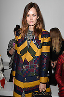 Charlotte De Carle<br /> at the Teatum Jones AW17 show as part of London Fashion Week AW17 at 180 Strand, London.<br /> <br /> <br /> ©Ash Knotek  D3230  17/02/2017