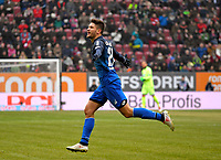 03.03.2018,  Football 1.Liga 2017/2018, 25. match day,  FC Augsburg - TSG Hoffenheim, in WWK-Arena Augsburg. Andrei Kramaric (TSG 1899 Hoffenheim) . *** Local Caption *** © pixathlon<br /> <br /> Contact: +49-40-22 63 02 60 , info@pixathlon.de
