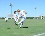 Lobos Azul vs. Jonesboro CC Tornado Gold in the Rose Cup at the Mike Rose Soccer Complex in Memphis, Tenn. on Saturday, September 21, 2013.