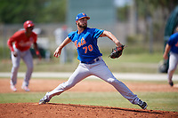 New York Mets Pitcher Craig Missigman (70) during a minor league Spring Training game against the St. Louis Cardinals on March 28, 2017 at the Roger Dean Stadium Complex in Jupiter, Florida.  (Mike Janes/Four Seam Images)