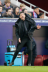 Club Atletico de Madrid's coach Diego Pablo Cholo Simeone during La Liga match. December,8,2018. (ALTERPHOTOS/Alconada)
