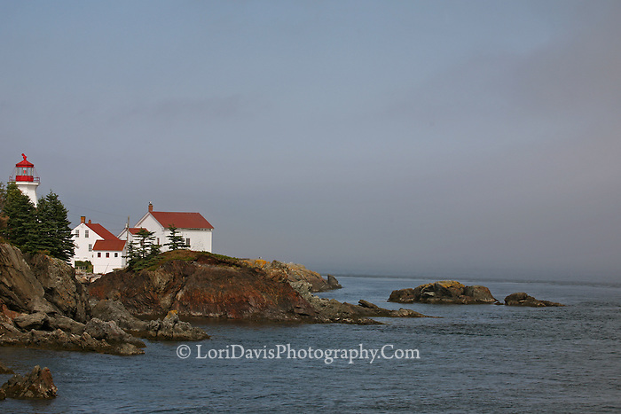 East Quoddy Light, Campobello Island, Nova Scotia  #LH33