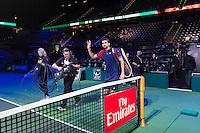 ABN AMRO World Tennis Tournament, Rotterdam, The Netherlands, 16 Februari, 2017, Marin Cilic (CRO)<br /> Photo: Henk Koster