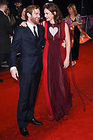 """Mark Stanley and Ruth Wilson<br /> arriving for the London Film Festival 2017 screening of """"Dark River"""" at the Odeon Leicester Square, London<br /> <br /> <br /> ©Ash Knotek  D3323  07/10/2017"""
