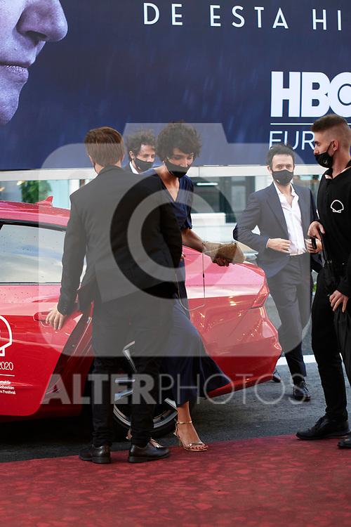 Rodrigo Sorogollen, Isabel Peña attend The red carpet at 'Antidisturbios', during the 68th San Sebastian Donostia International Film Festival - Zinemaldia.September 25,2020.(ALTERPHOTOS/Yurena Paniagua)
