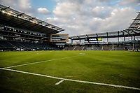 Kansas City, KS - Wednesday September 20, 2017: 2017 U.S. Open Cup Children's Mercy Park field view during the 2017 U.S. Open Cup Final Championship game between Sporting Kansas City and the New York Red Bulls at Children's Mercy Park.
