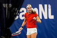 Amstelveen, Netherlands, 14  December, 2020, National Tennis Center, NTC, NK Indoor, National  Indoor Tennis Championships, Qualifying:   Hanneke Lodewijks (NED) <br /> Photo: Henk Koster/tennisimages.com