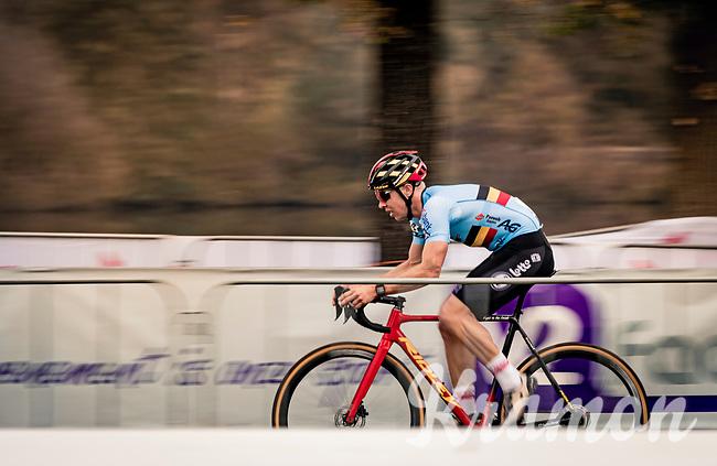 Belgian National Champion Laurens Sweeck (BEL/Pauwels Sauzen-Bingoal)<br /> <br /> UEC Cyclocross European Championships 2020 - 's-Hertogenbosch (NED)<br /> <br /> Elite MEN<br /> <br /> ©kramon