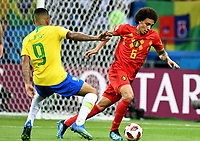 KAZAN - RUSIA, 06-07-2018: Axel WITSEL jugador de Bélgica en acción durante partido de cuartos de final entre Brasil y Bélgica por la Copa Mundial de la FIFA Rusia 2018 jugado en el estadio Kazan Arena en Kazán, Rusia. / Axel WITSEL player of Belgium action during the match between Brazil and Belgium of quarter final for the FIFA World Cup Russia 2018 played at Kazan Arena stadium in Kazan, Russia. Photo: VizzorImage / Julian Medina / Cont