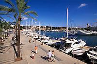 Hafen von Portocristo (Porto Cristo), Mallorca, Spanien