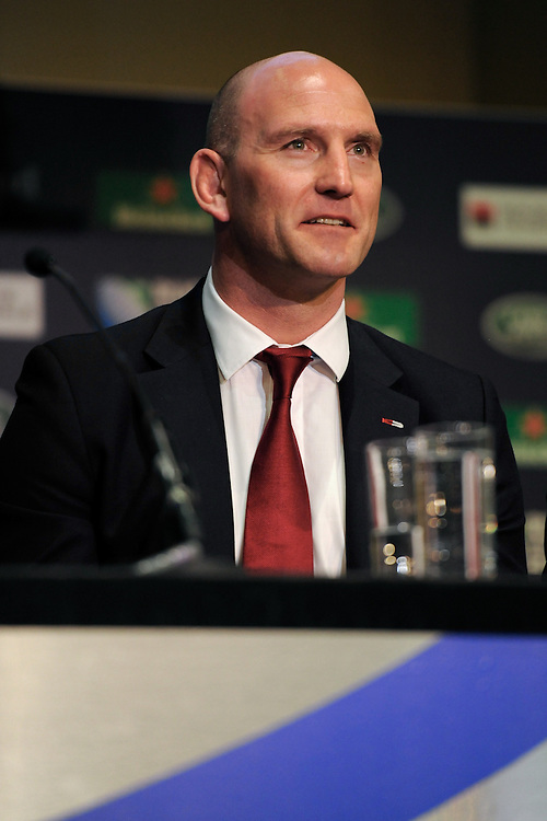 Rugby World Cup Ambassador Lawrence Dallaglio during the Rugby World Cup 2015 Venues and Match Schedule Launch at Twickenham Stadium on Thursday 2nd May 2013 (Photo by Rob Munro)