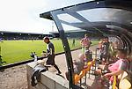 Port Vale 3 Doncaster Rovers 0, 22/08/2015. League One, Vale Park. The Port Vale bench. Photo by Paul Thompson.