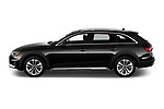 Car Driver side profile view of a 2021 Audi A4-allroad Premium-Plus 5 Door Wagon Side View