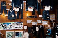 MAY 15, 2014 - KOJIMA, KURASHIKI, JAPAN: Betty Smith CO., Jeans company's Jeans Museum.  (Photograph / Ko Sasaki)