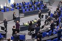 Deutscher Bundestag gedenkt am Internationalen Holocaustgedenktag der Opfer des Nationalsozialismus.<br /> Im Bild: <br /> 27.1.2021, Berlin<br /> Copyright: Christian-Ditsch.de