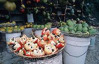 Ackee (National Fruit) at Street Market, Hope Bay, Jamaica, January 2005