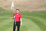 ISPS Handa Wales Open 2013<br /> Celtic Manor Resort<br /> Chris Hollins playing in the Pro-Am<br /> 28.08.13<br /> <br /> ©Steve Pope-Sportingwales
