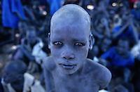 Sudan. South Sudan. Bahr El Ghazal. Mayen Abun. Christian Solidarity International (CSI) buys back dinka slaves from arab traders. © 1999 Didier Ruef