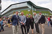01-07-13, England, London,  AELTC, Wimbledon, Tennis, Wimbledon 2013, Day seven, <br /> <br /> <br /> <br /> Photo: Henk Koster