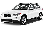 Front three quarter view of a .2013 BMW X1 sDrive28i