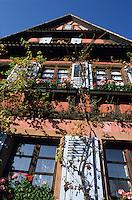 Europe/France/Alsace/67/Bas-Rhin/Wissembourg : Maison du quartier du Bruch au bord de la Lauter