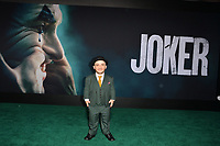 "LOS ANGELES, USA. September 29, 2019: Leigh Gill at the premiere of ""Joker"" at the TCL Chinese Theatre, Hollywood.<br /> Picture: Paul Smith/Featureflash"