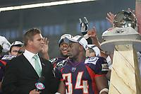 MVP BUtchie Wallace wird von NFL Network interviewt