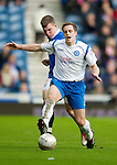 Rangers v St Johnstone....27.02.11 .Alan Maybury fouled by Greg Wylde.Picture by Graeme Hart..Copyright Perthshire Picture Agency.Tel: 01738 623350  Mobile: 07990 594431