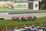 Jockey Karis Teetan riding My Darling (l) competes during the 2017 BMW Hong Kong Derby Race at the Sha Tin Racecourse on 19 March 2017 in Hong Kong, China. Photo by Marcio Rodrigo Machado / Power Sport Images