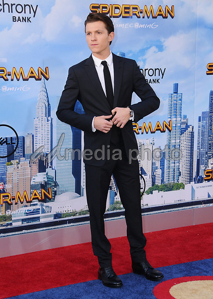 """28 June 2017 - Hollywood, California - Tom Holland. """"Spider-Man: Homecoming"""" Los Angeles Premiere held at the TCL Chinese Theatre in Hollywood. Photo Credit: Birdie Thompson/AdMedia"""
