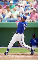Kansas City Royals George Brett (5) during Spring Training 1993 at Baseball City Stadium in Davenport, Florida.  (MJA/Four Seam Images)
