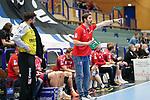 07.10.2020, Klingenhalle, Solingen,  GER, 1. HBL. Herren, Bergischer HC vs. HC Erlangen, <br /> <br /> im Bild / picture shows: <br /> Michael Haaß / Haass Trainer / Headcoach (HC Erlangen),  regt sich heftig auf, Gestik, Mimik, unzufrieden / enttaeuscht / niedergeschlagen / frustriert, <br /> <br /> <br /> Foto © nordphoto / Meuter *** Local Caption ***