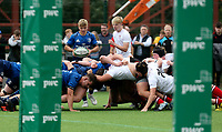 Saturday 5th September 2021<br /> <br /> Fintan Gunne during U19 inter-pro between Ulster Rugby and Leinster at Newforge Country Club, Belfast, Northern Ireland. Photo by John Dickson/Dicksondigital