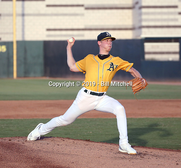 Nathan Patterson - 2019 AZL Athletics (Bill Mitchell)