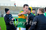 Fionan Mackessy, Kerry after the Joe McDonagh hurling cup fourth round match between Kerry and Carlow at Austin Stack Park on Saturday.