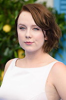 "Alexa Davies<br /> arriving for the ""Mama Mia! Here We Go Again"" World premiere at the Eventim Apollo, Hammersmith, London<br /> <br /> ©Ash Knotek  D3415  16/07/2018"