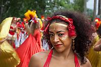 Beautiful Woman, Fremont Solstice Parade & Festival, Seattle, WA, USA.