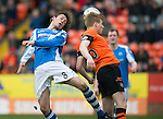 Dundee United v St Johnstone.....04.05.13      SPL.Murray Davidson and Stuart Armstrong.Picture by Graeme Hart..Copyright Perthshire Picture Agency.Tel: 01738 623350  Mobile: 07990 594431